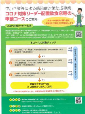 東京都 申請概要 表